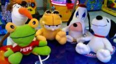 Garfield, Pepe, Snoopy y otros.