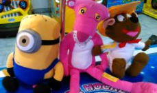 Minion, Pantera Rosa y Speedy Gonzalez